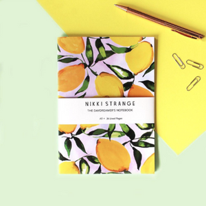 Citrus Lemons Notebook