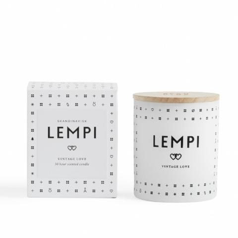 Scandinavisk Lempi Love Candle with box