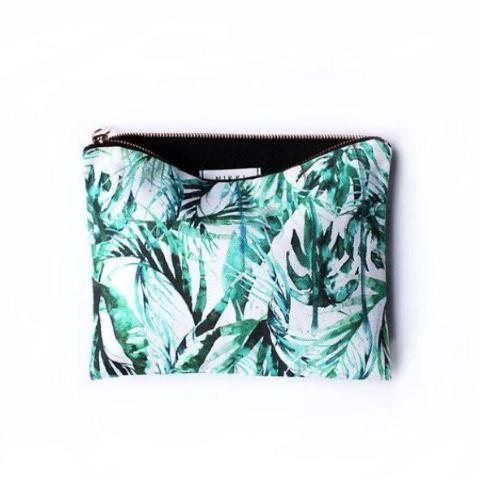 Paradise palms travel bag