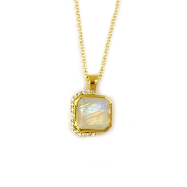 Window into Dreamland Pendant 18kt Yellow Gold Vermeil