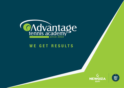Advantage Tennis Academy in Egypt Brochure