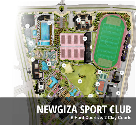Advantage Tennis Academy Egypt - NewGiza Sport Club
