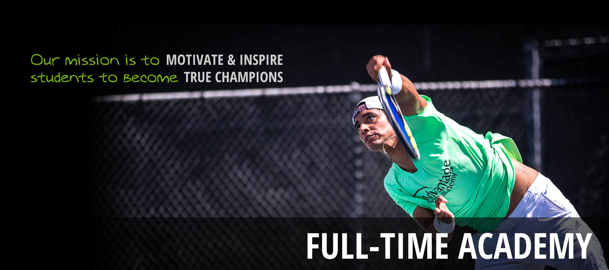 Advantage Tennis Academy Full-Time Program