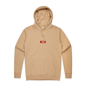 Tan Embroidered Hood