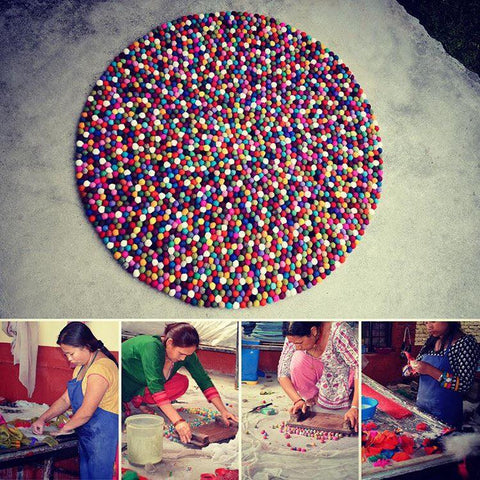 Handmade products made from hardworking Nepalese women.