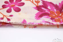 100% CASHMERE PINK SHADES PETALS PASHMINA SHAWL/SCARF