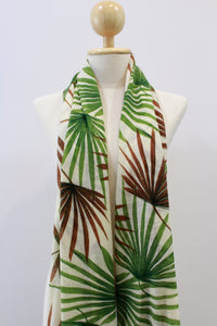 100% Cashmere Palm Leaves Pashmina Shawl/Scarf