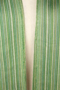 Green Stripes Bamboo Scarf/Muffler