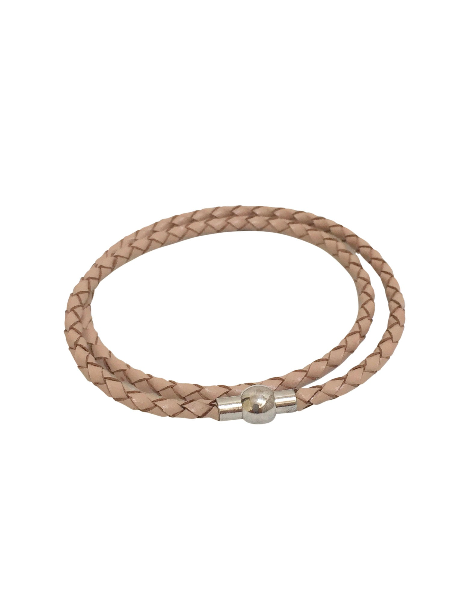 Leather Braided Double Bracelet