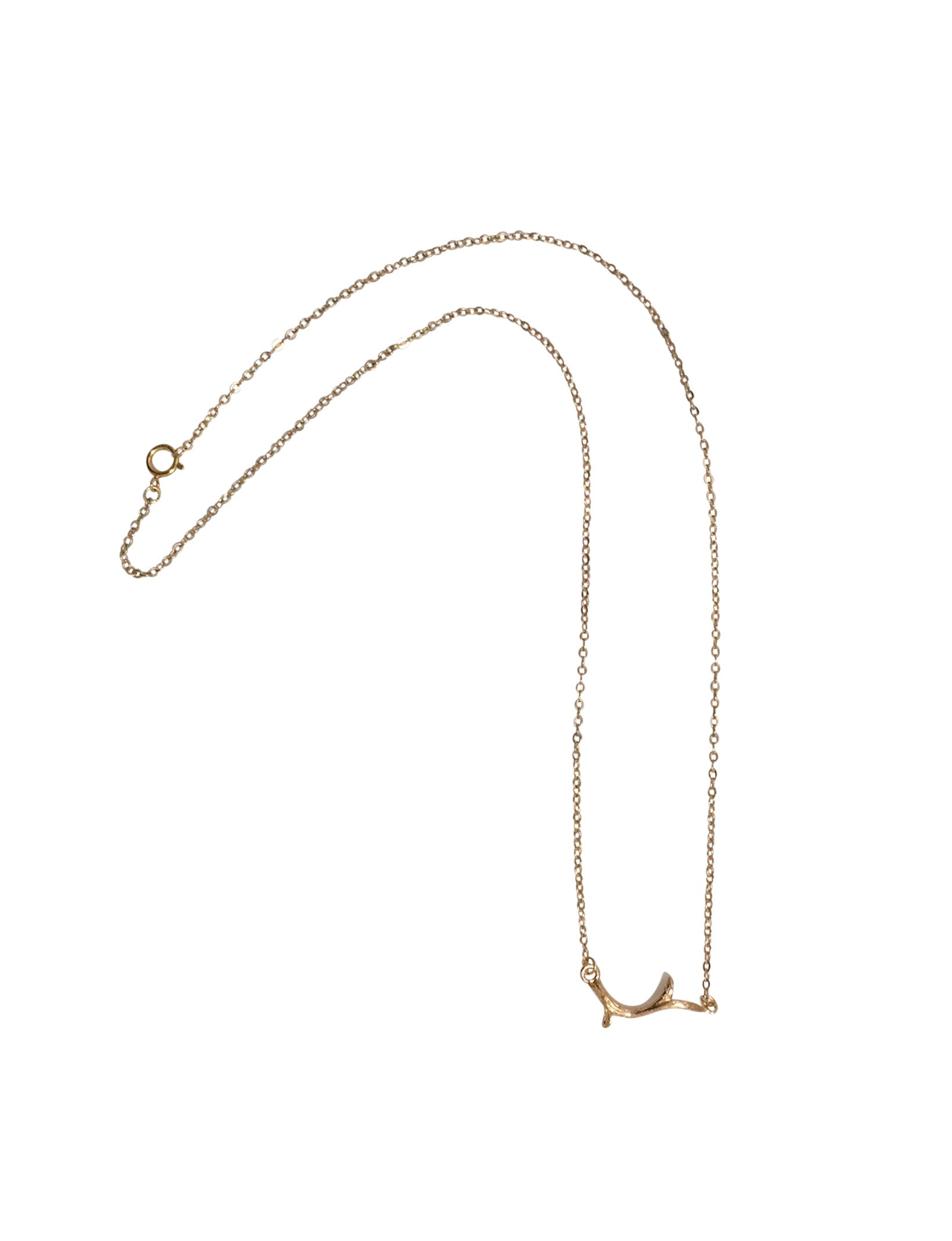 Small Champagne-Gold plated Chain and Branch