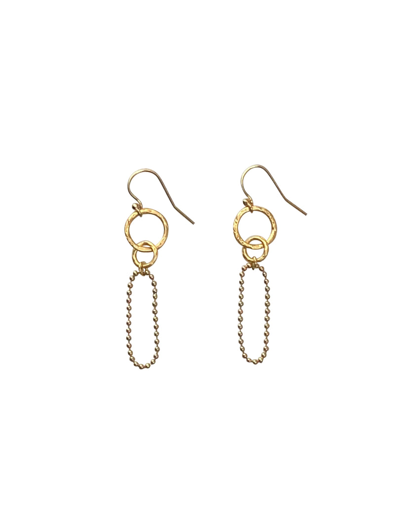 earrings goldfilled oorbellen hangers