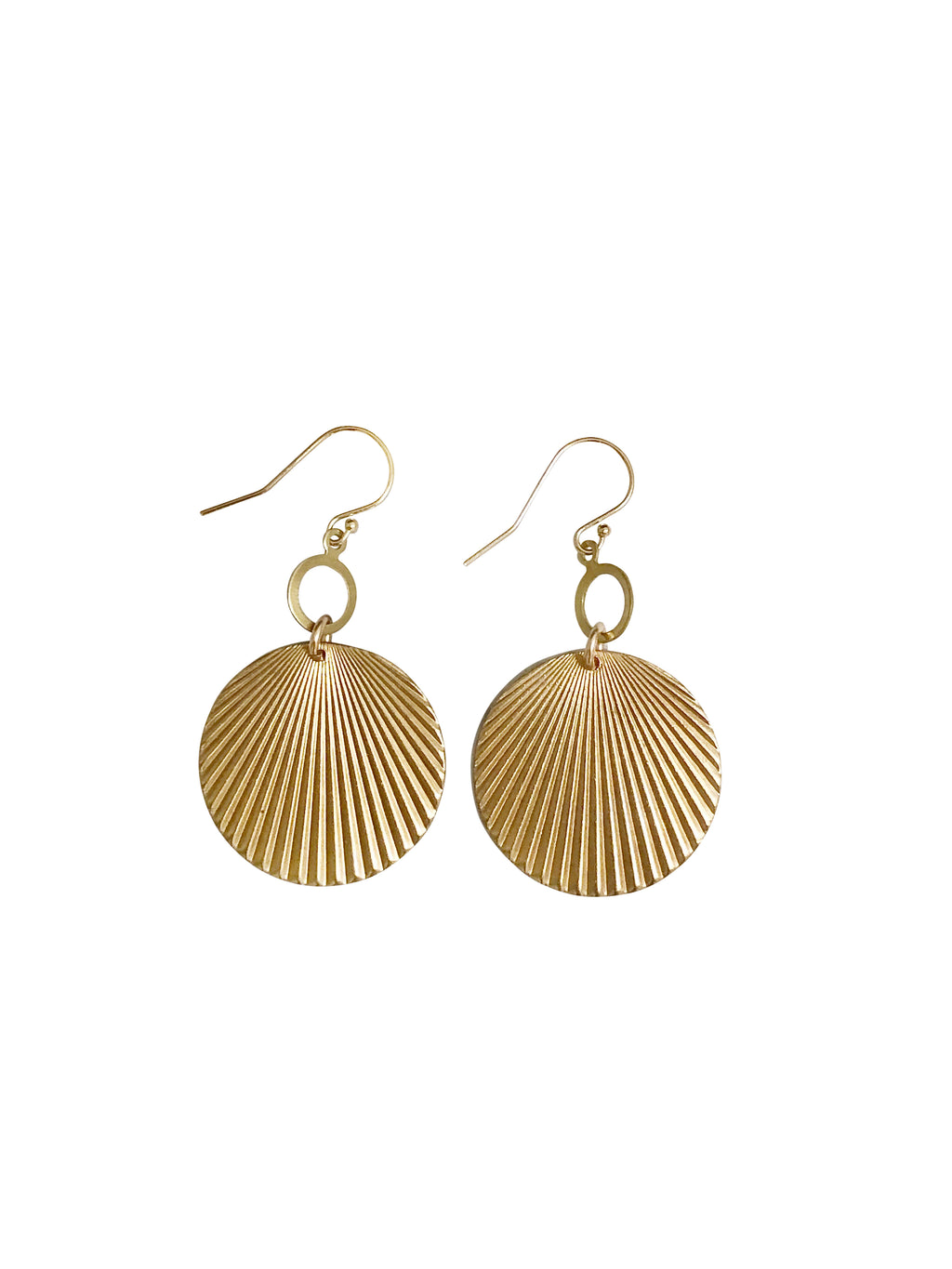 earrings oorbellen sieraden jewelry messing statement goldcoloured