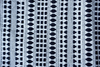 Black and White  Geometric Design Bags Upholstery Weight Fabric Sold by Yard