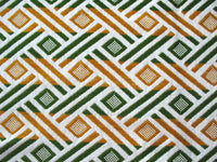 Abstract Geometric Design Upholstery Weight Fabric Sold by Yard