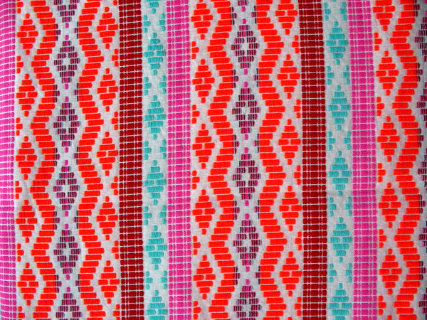 Pop Colors Yarn Dyed Woven Upholstery Fabric Sold by the Yard