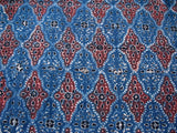 Ajrakh Print Cotton Fabric Sold by Yard