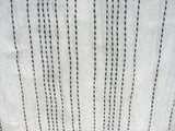 Soft cotton stitch detail fabric