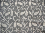 Paisley Pattern Handloom Cotton Jacquard Fabric