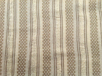 Woven Striped Soft cotton Gauze fabric for Beach Coverup Shrugs Sold by Yard