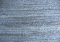 Blue Gray Textured Geecha Wild Silk Fabric Sold by the Yard