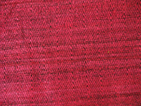 Two Tone Fuchsia Herringbone Weave Silk Fabric
