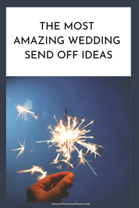 The most amazing wedding send off ideas