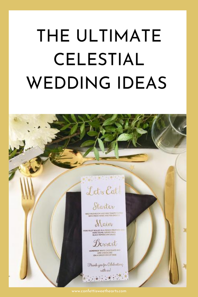 The ultimate celestial wedding ideas