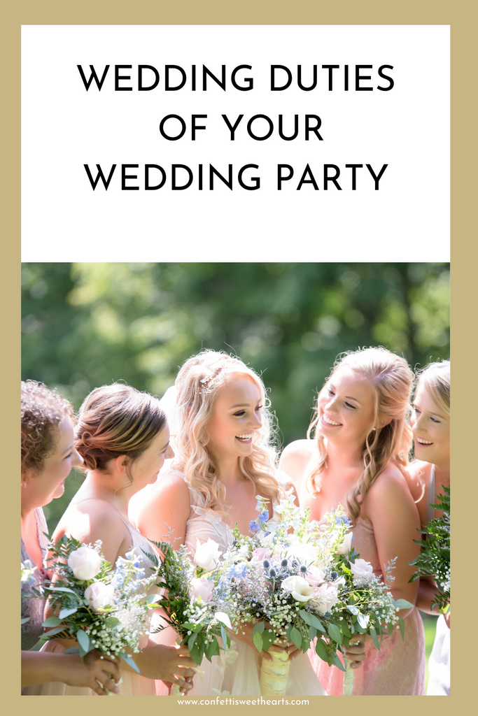 Duties of your wedding party