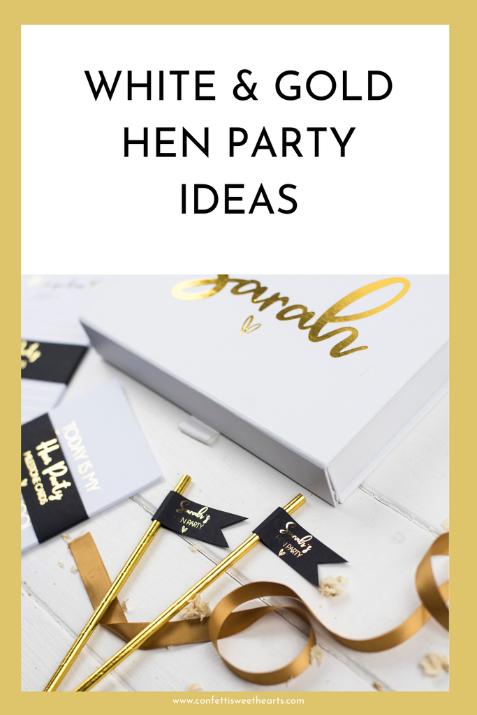 How to plan a white & gold hen party
