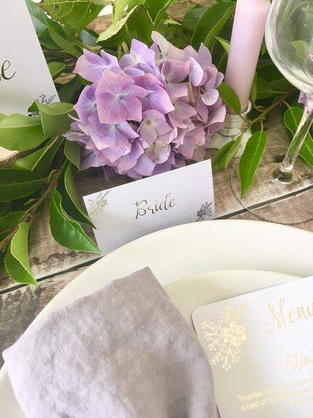 Romance Design Table Numbers