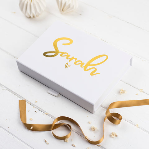 Personalised Foiled Gift Box