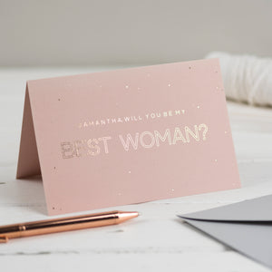 will you be my best women card