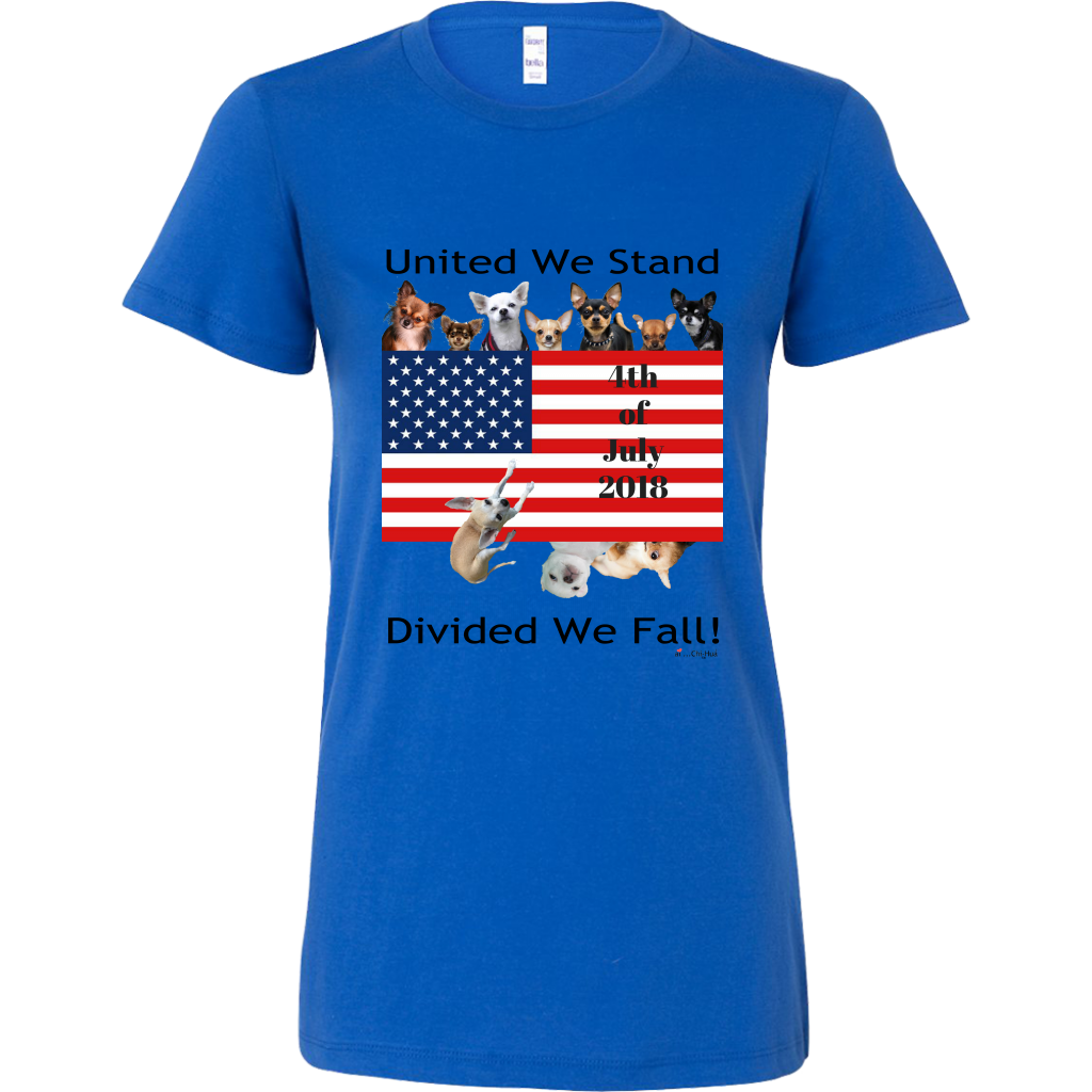 United We Stand Divided We Fall - Bella Women's Shirt