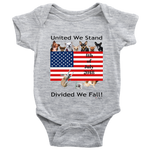 United We Stand Divided We Fall - Baby Suit