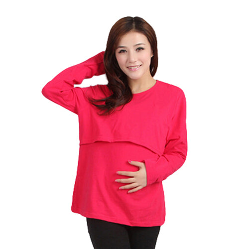 Trendy Discreet Nursing Blouse