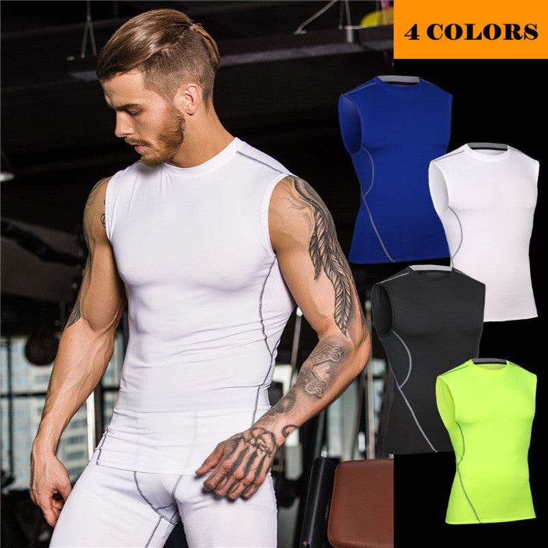 Men's Tight Hugging Workout Vest