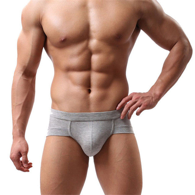 Men's Hot & Sexy Boxer Brief Swimming Trunks