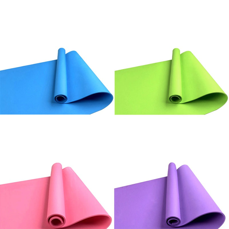 Light & Easy Non-Slip Fitness Mat for Yoga/Pilates/Exercise - comes in 4 Colors