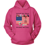 United We Stand Divided We Fall - Unisex Hoodie