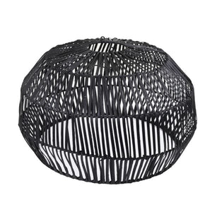 Round Hanging Lamp - Black