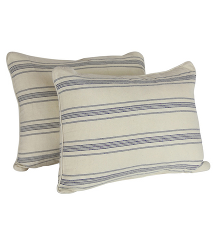 Striped Hand Loomed Cushion