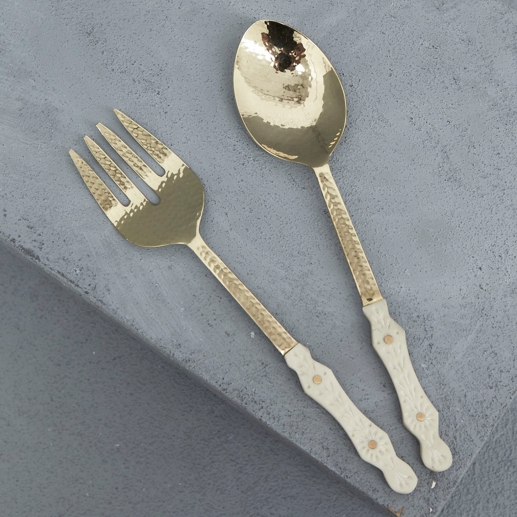Hana Resin Salad Servers