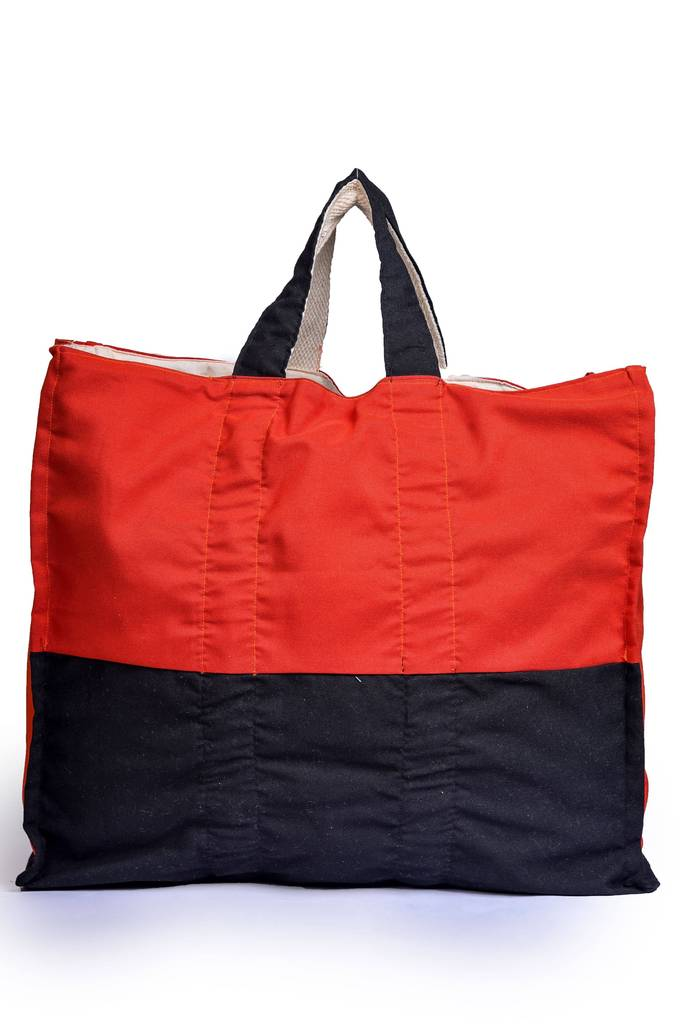 Upcycled Foldable Heavy Duty Shopper Bag