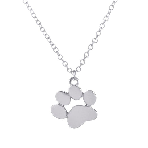 Cute Necklace  Pets Paw