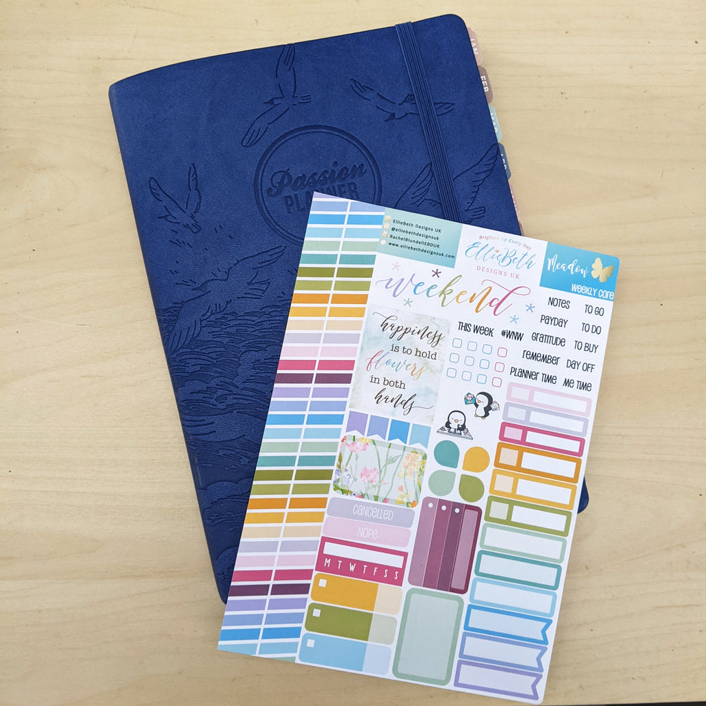 Passion planner and weekly core from EBDUK