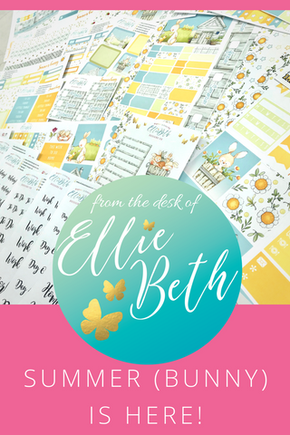 EllieBeth planner stickers UK