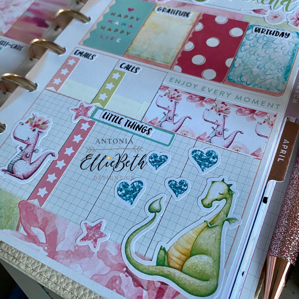 Little but Fierce - by Antonia - Happy Planner