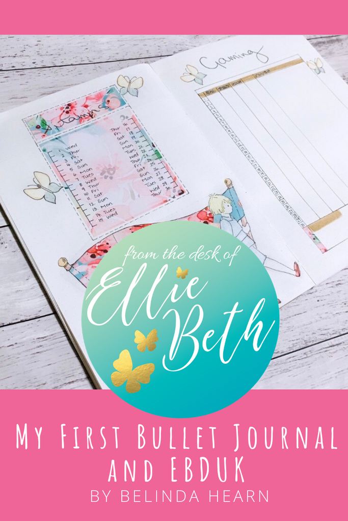 Bullet Journalling and EllieBeth Designs Stickers