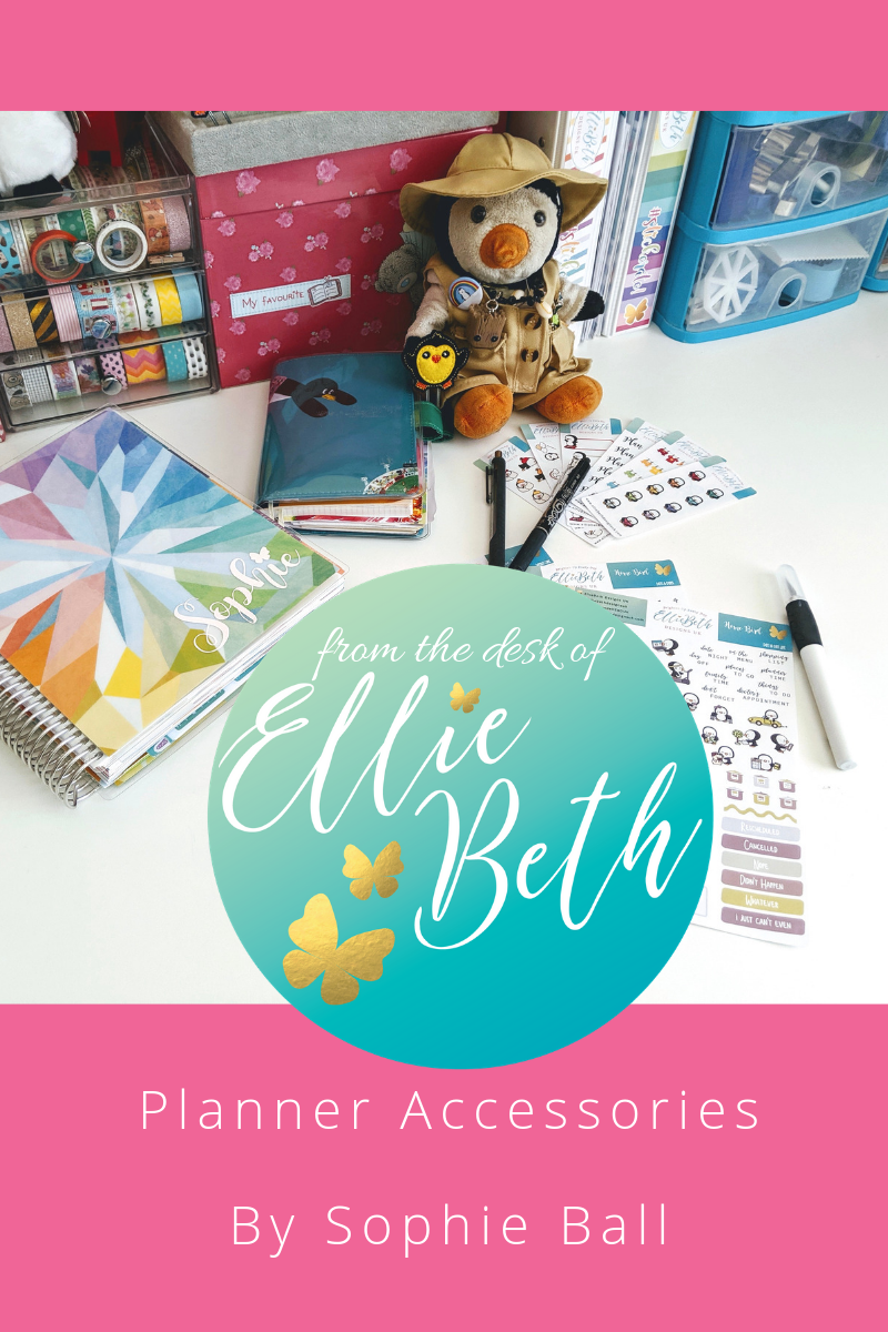Planner Accessories for Erin Condren and Hobonichi