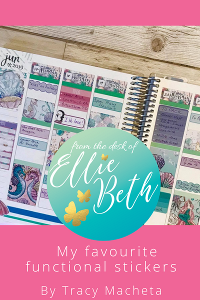 Erin Condren Layout from Tracy Macheta